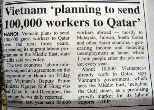From an English-language Gulf newspaper, today