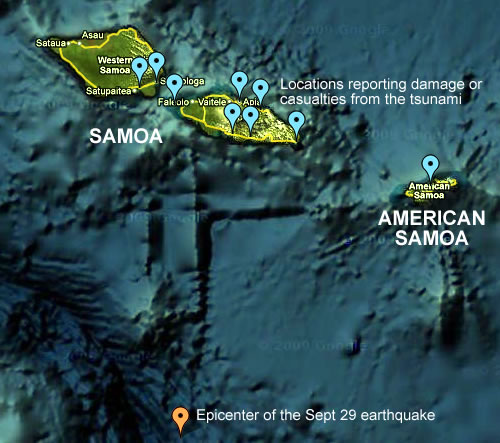 map of haiti earthquake epicenter. Location of the earthquake