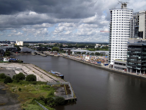 Manchester Ship Canal, 2009.