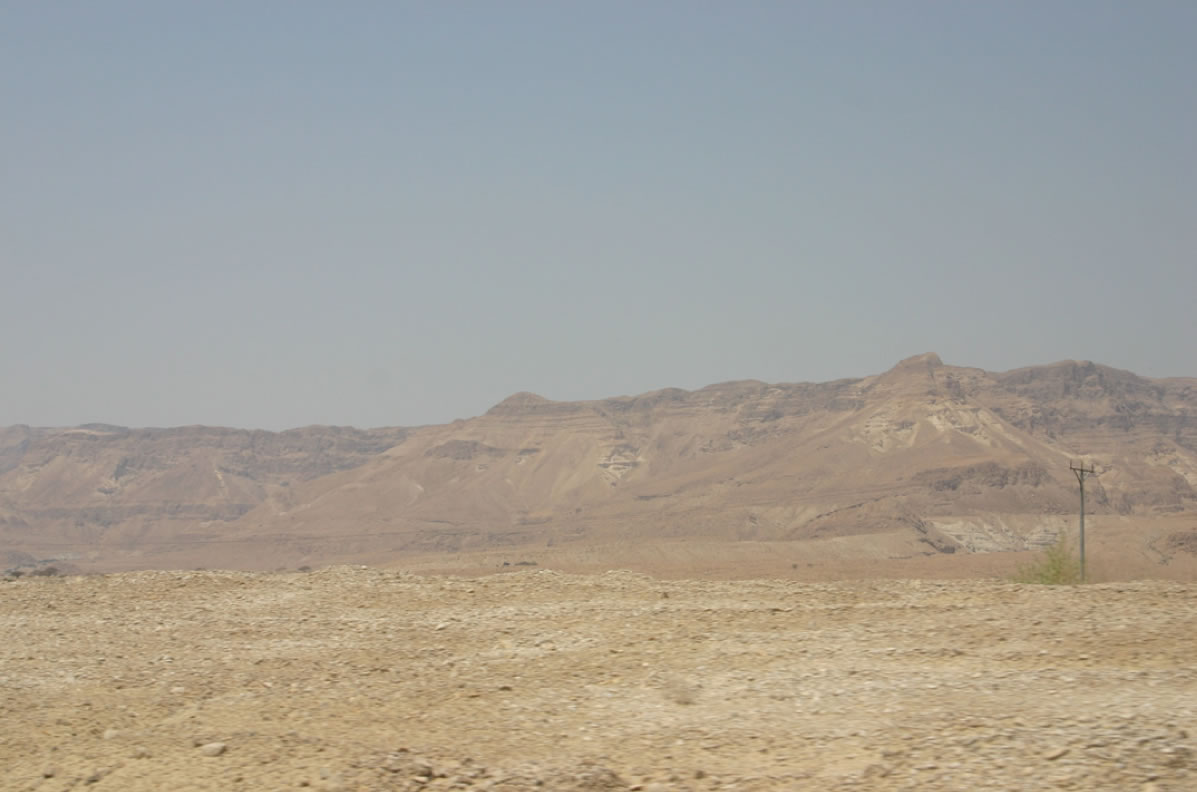 The (much) Promised Land (near the Dead Sea)