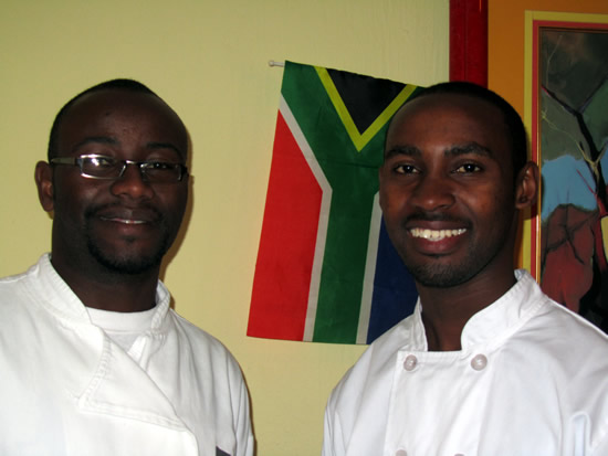 Maurice and David, August 2011/