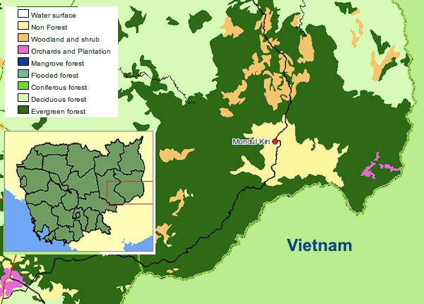 Worksheet. The vanishing rainforests and cultures of eastern Cambodia